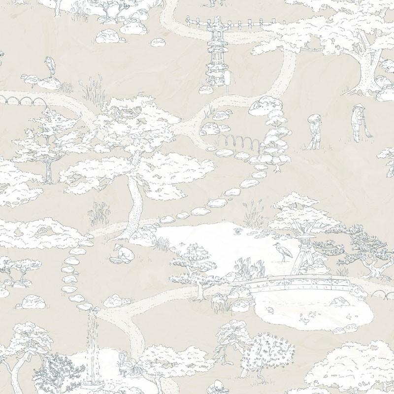 Papel pintado Sandberg Nippon Kenrokuen 239-29