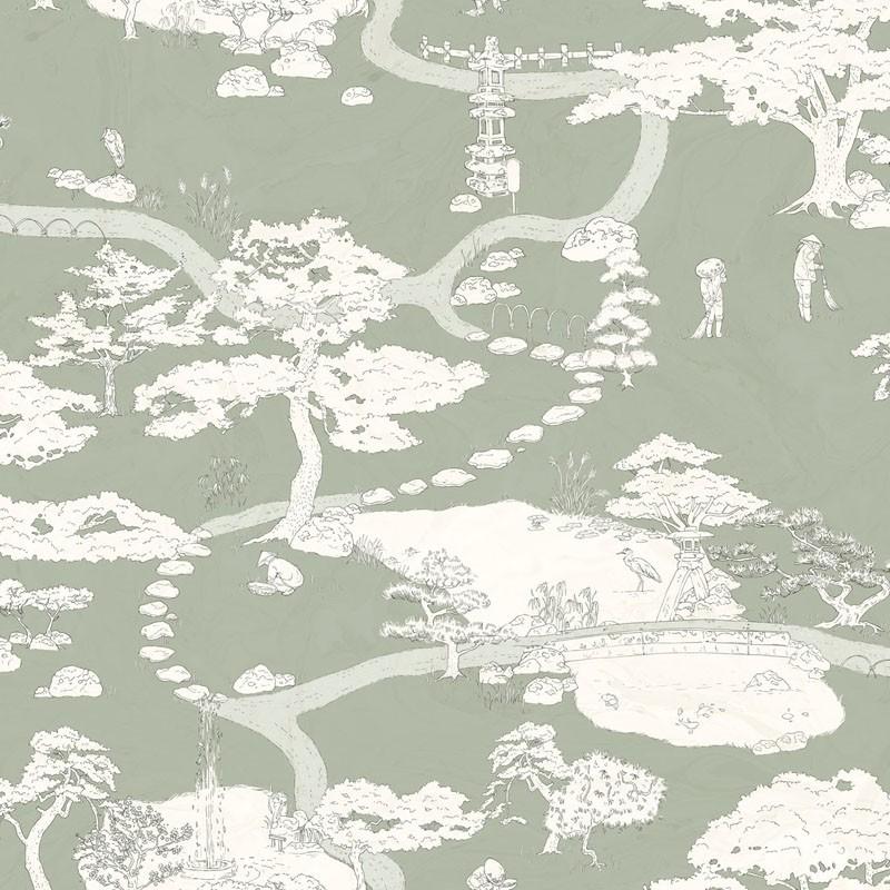 Papel pintado Sandberg Nippon Kenrokuen 239-58