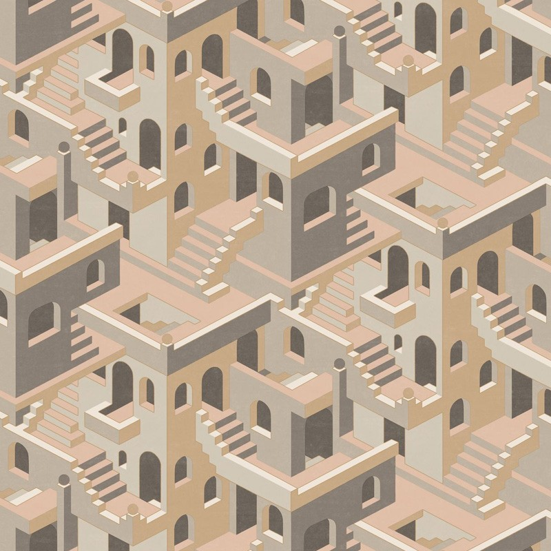 Papel pintado Casadeco Utopia Illusion UTOP85111327