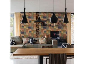 Papel pintado Missoni Home Wallcoverings 03 Patchwork 10240