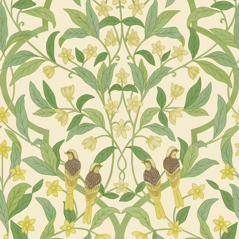 Papel pintado Cole & Son Sevilla Jasmine & Serin Symphony 117-10031