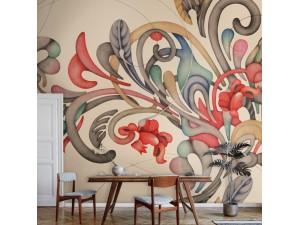 Mural Tres Tintas Rúbrica Romance M3403-2