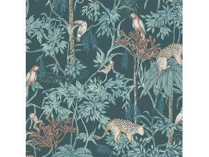 Papel pintado infantil Boras Tapeter Newbie Wild Jungle 7463