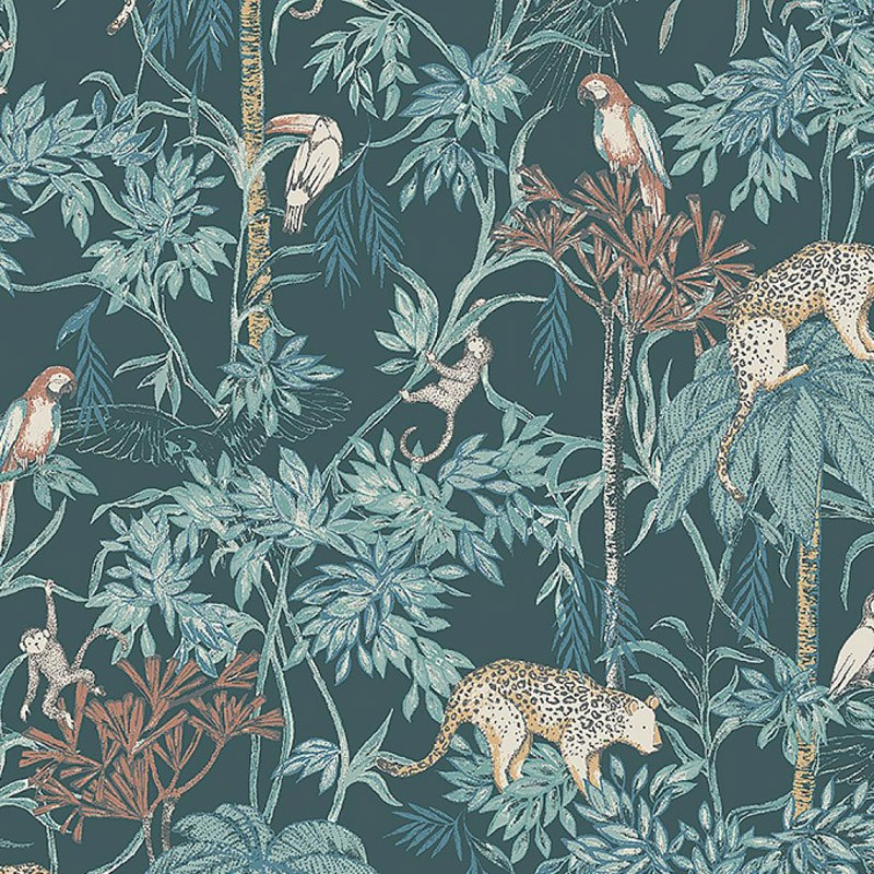 Papel pintado infantil Boras Tapeter Newbie Wild Jungle 7463
