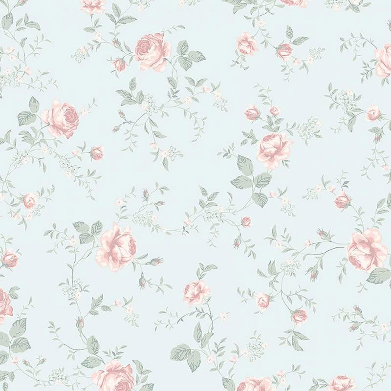 Papel pintado infantil Boras Tapeter Newbie Rose Garden 7465