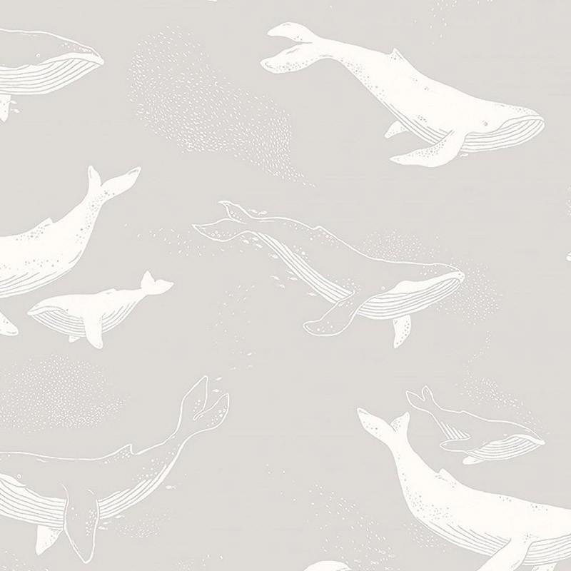 Papel pintado infantil Boras Tapeter Newbie Whales 7452