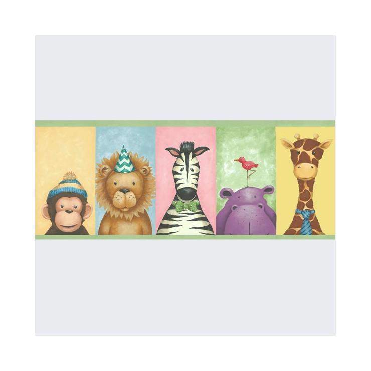 Papel pintado pajama party wallquest decoracion exclusivo - Cenefas papel pintado ...