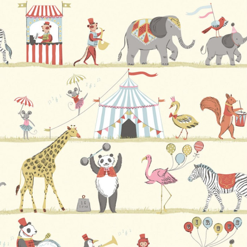 Papel pintado infantil Saint Honoré Happy Kids 1503-3500