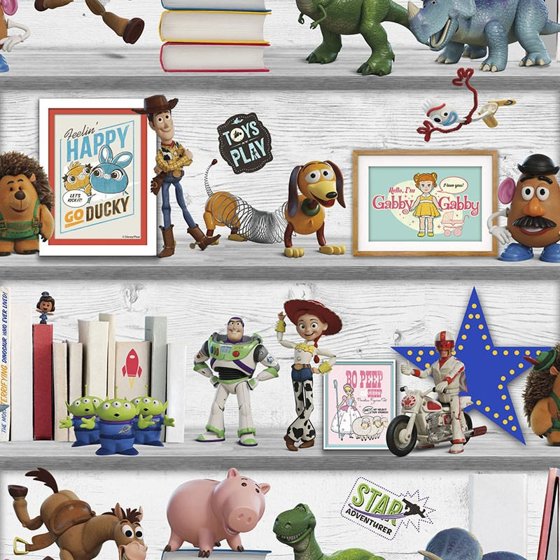 Papel pintado infantil Colowall Kids@Home Individual 236-1507