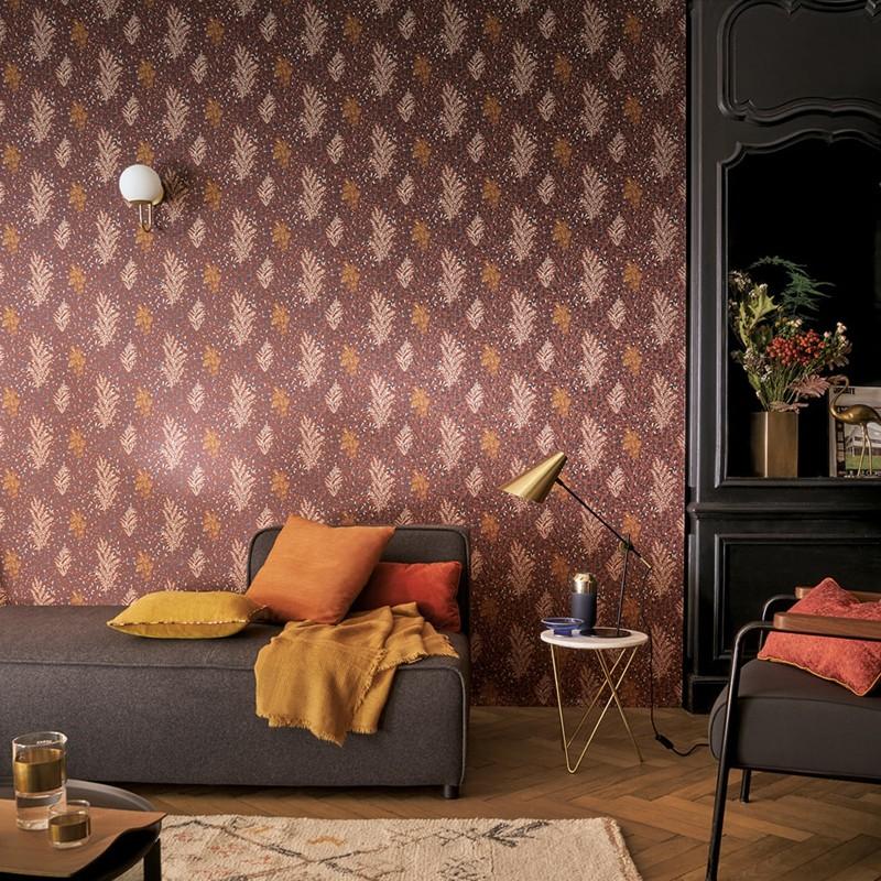 Papel pintado Casamance Blossom Isoete 74350426