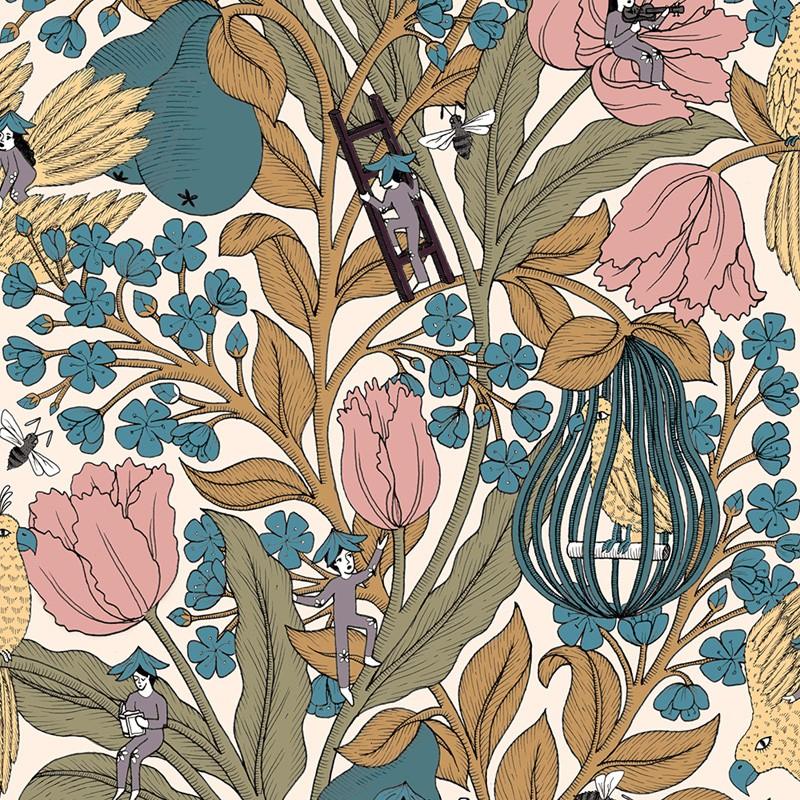 Metamorphosis Neo-Belle-Epoque 8800018 Papel pintado Coordonné