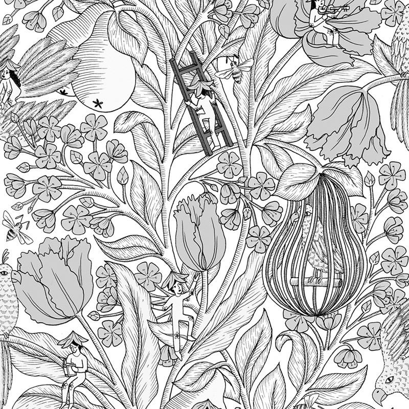Metamorphosis Neo-Belle-Epoque 8800017 Papel pintado Coordonné