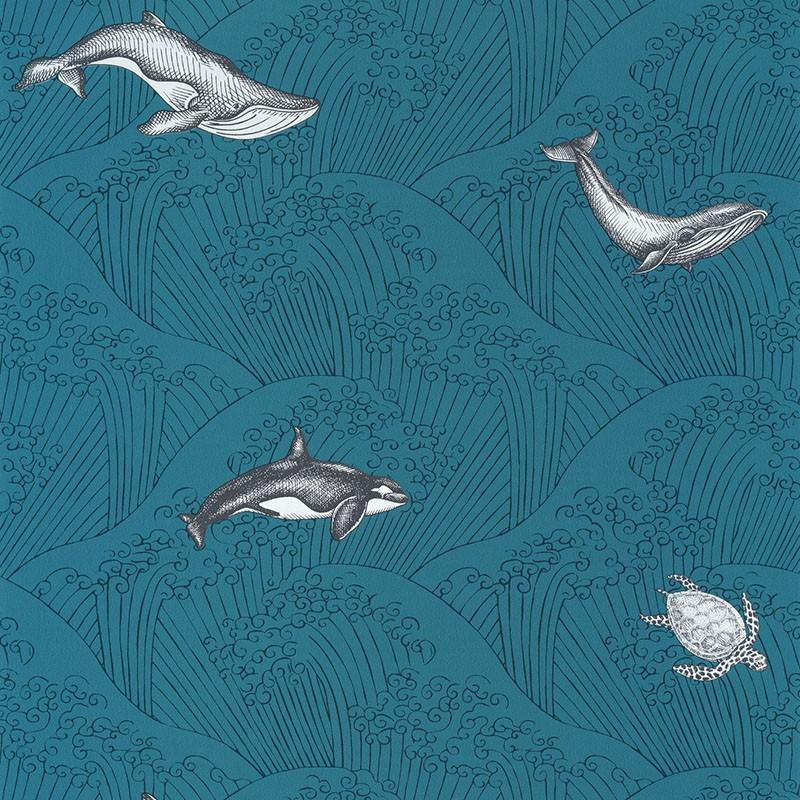 Papel pintado infantil Caselio Our Planet Under The Sea OUP102016608