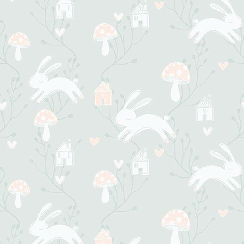 Papel pintado Living@ Home Bunny Love 621244