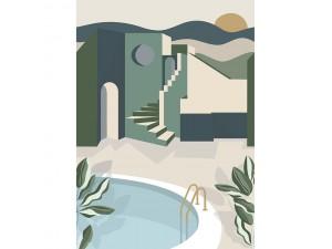 Mural Labyrinth Archways Caselio LBY102146075