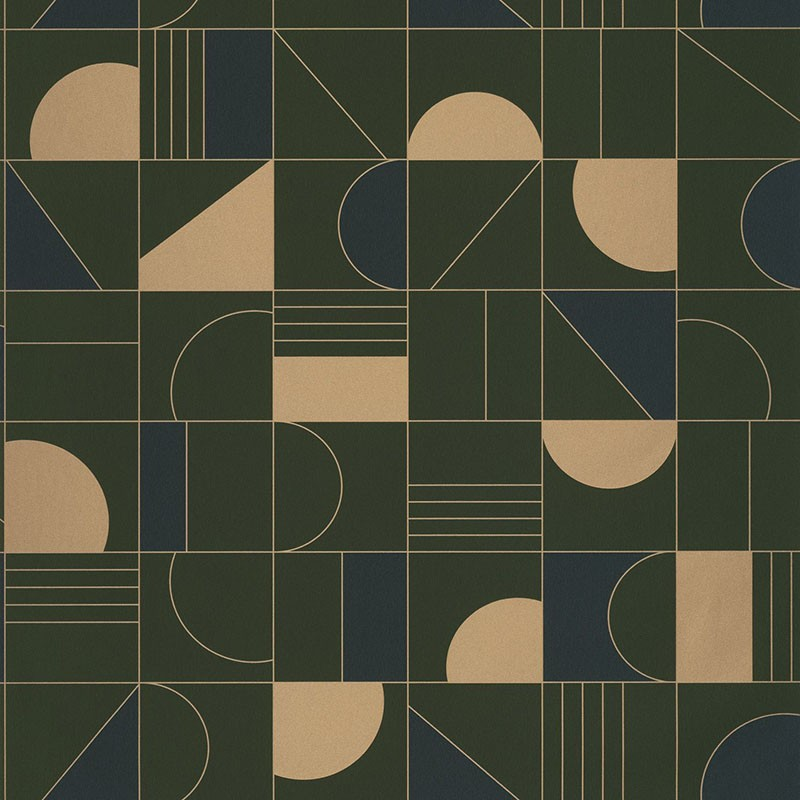 Papel pintado Labyrinth Puzzle Caselio LBY102106179