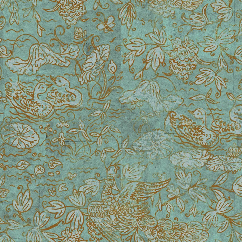 Revestimiento mural Elitis Domino Flirt Aquatique RM25506
