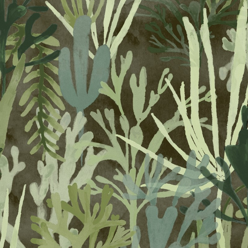 Papel pintado Flower power AlguesTP 303 03