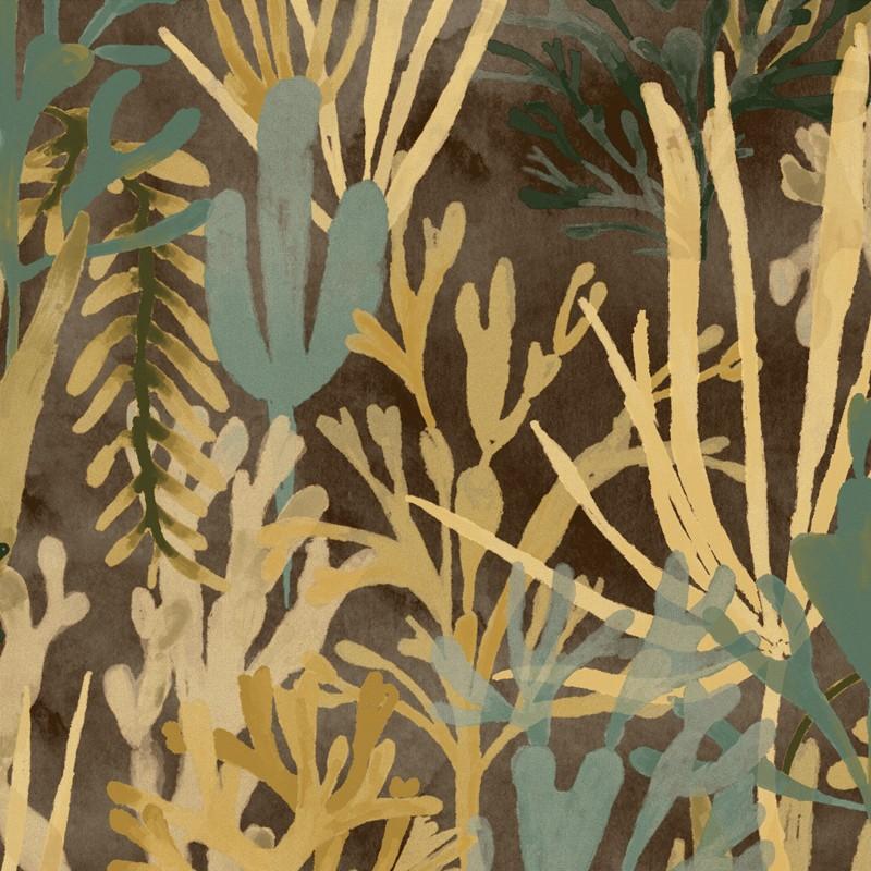 Papel pintado Flower power Algues TP 303 05