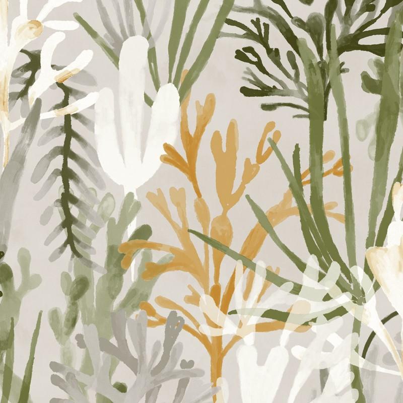 Papel pintado Flower power Algues TP 303 06
