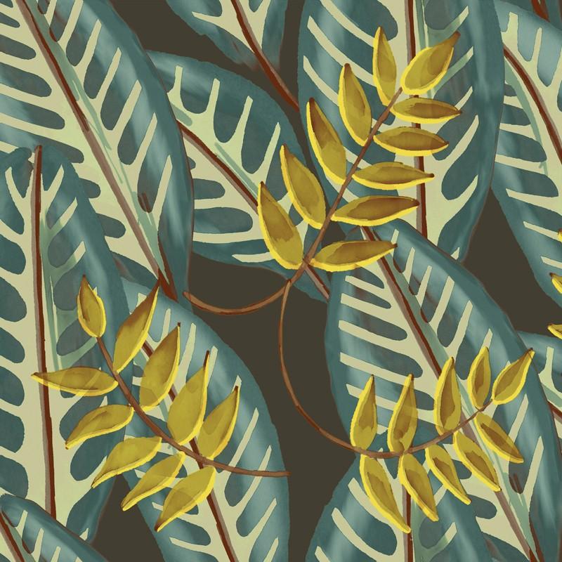 Papel pintado Flower power Alocasia TP 302 03