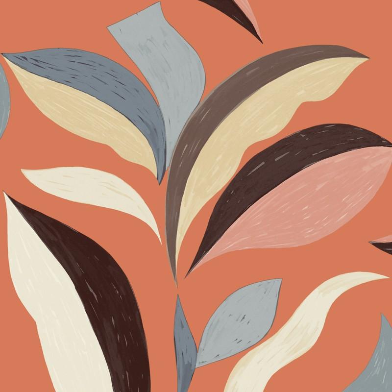 Papel pintado Flower power Nid d'oiseau TP 300 03