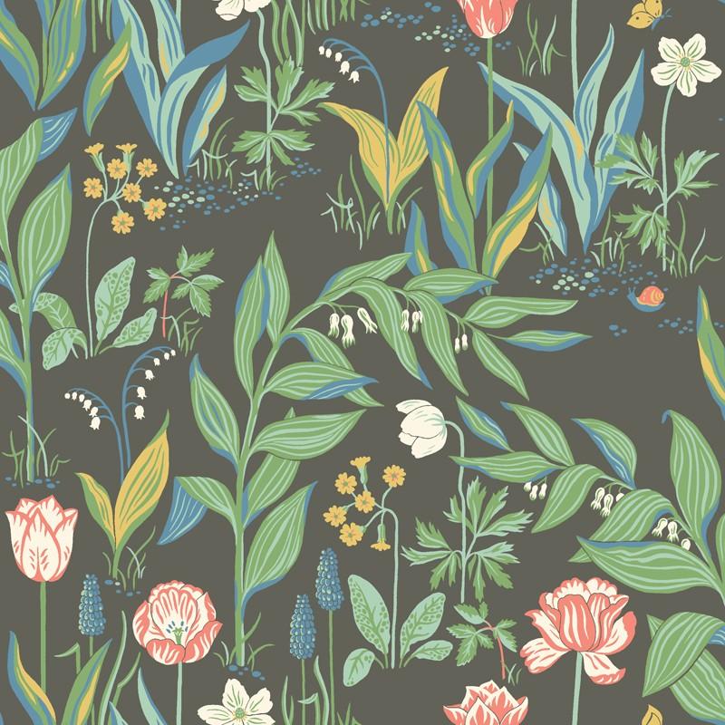 Papel Pintado Prairie Rose In Bloom 7219
