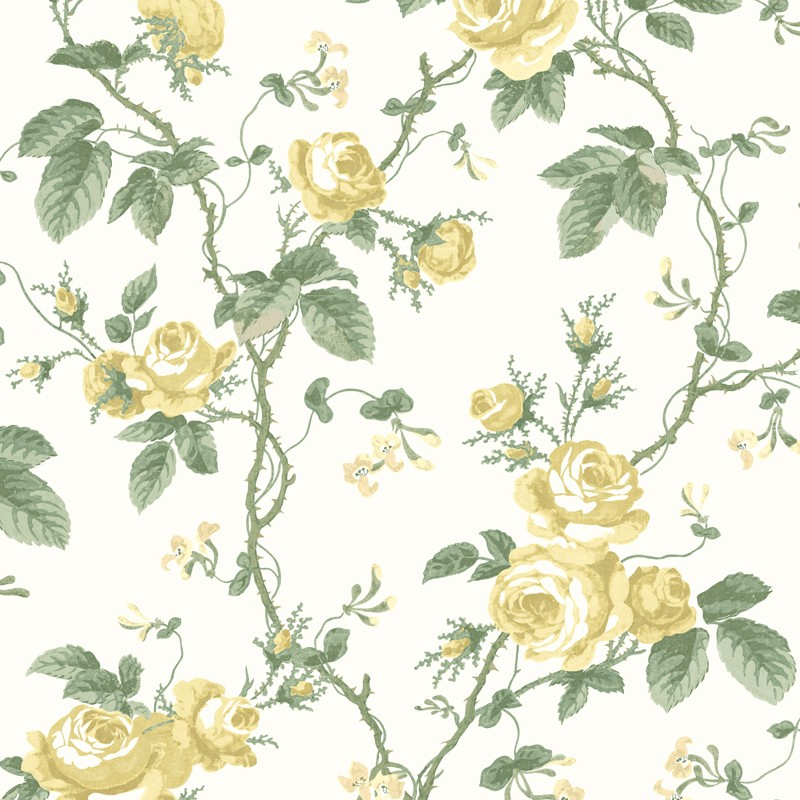 Papel Pintado French Roses In Bloom 7213