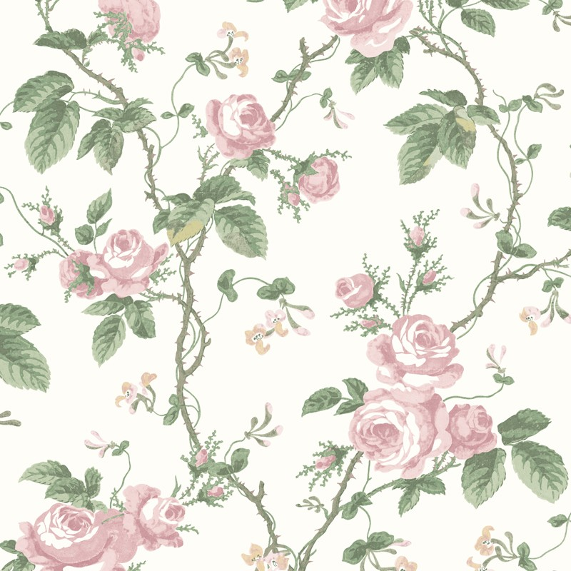 Papel Pintado French Roses In Bloom 7212