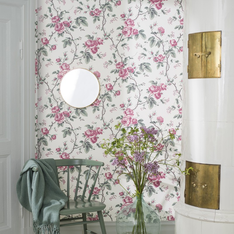 Papel Pintado French Roses In Bloom 7210