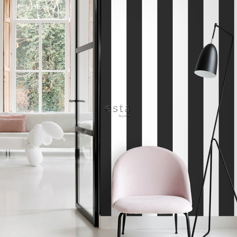 Black & White ESTAhome Papel pintado 139111