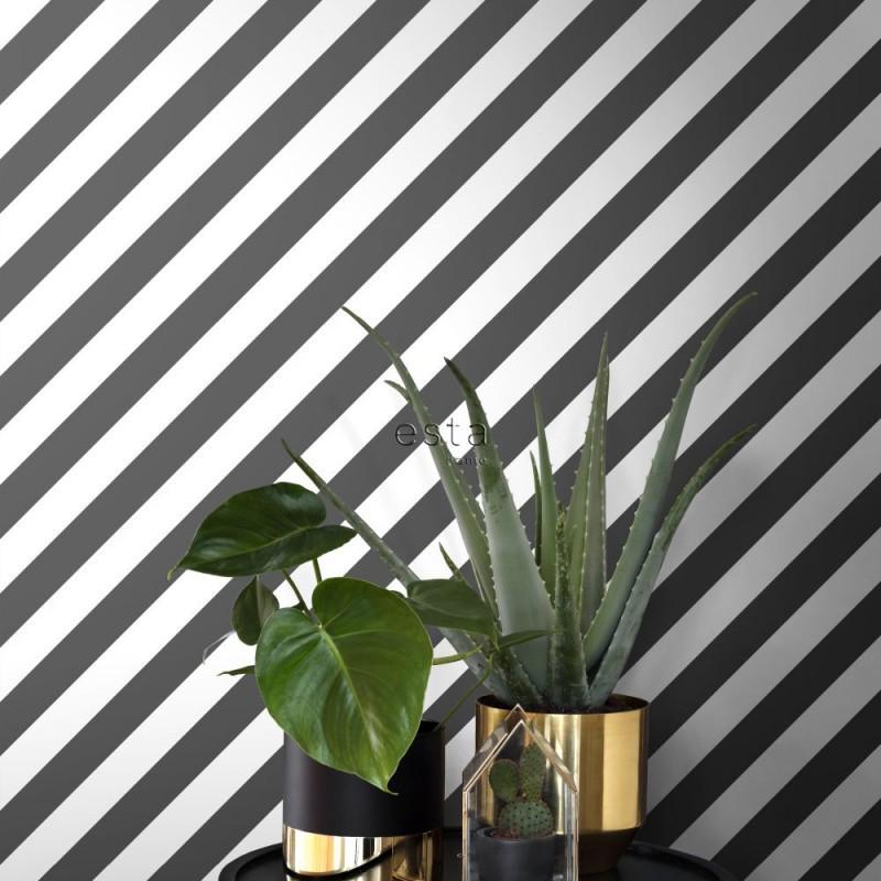 Black & White ESTAhome Papel pintado 139112