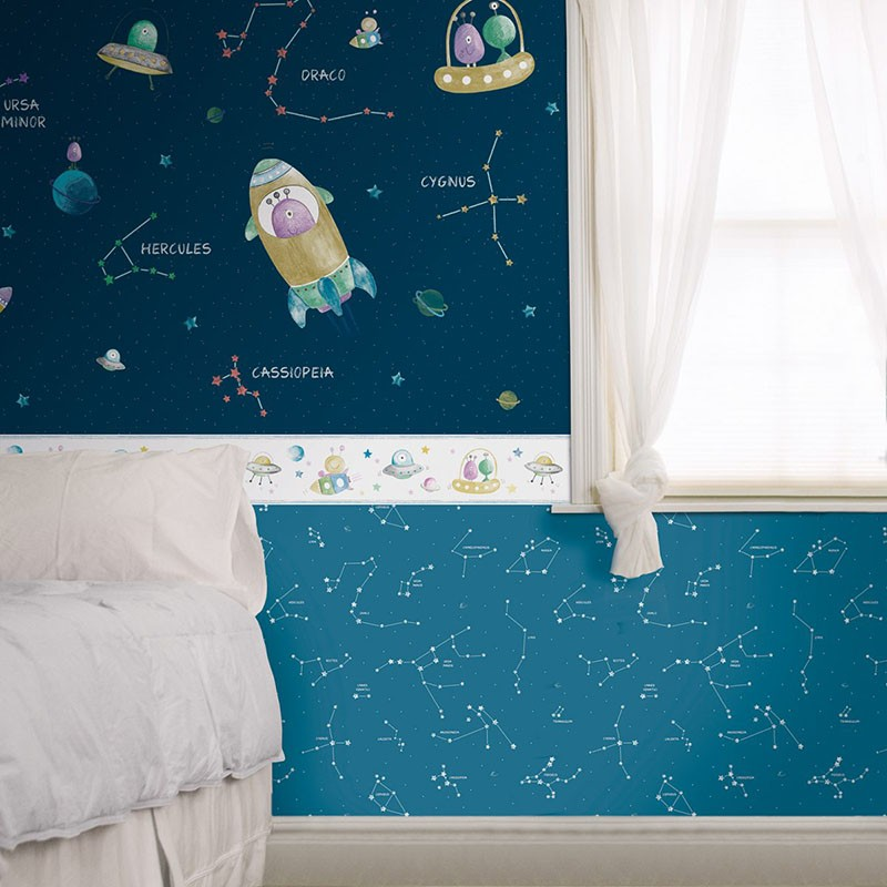 Mural infantil Colowall Oh la la 257-3552-1