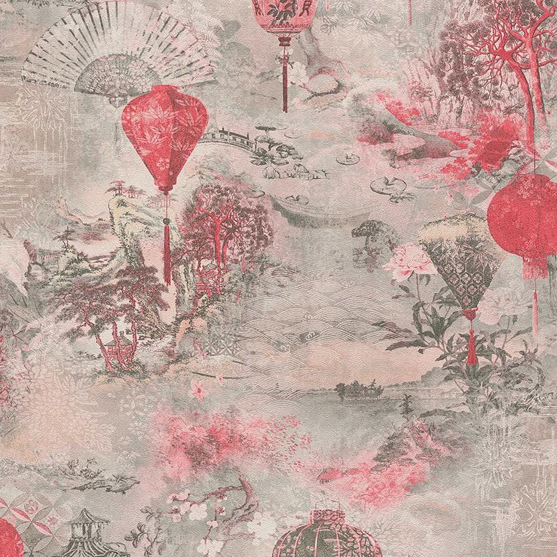 Papel pintado As Creation Asian Fusion 37466-2