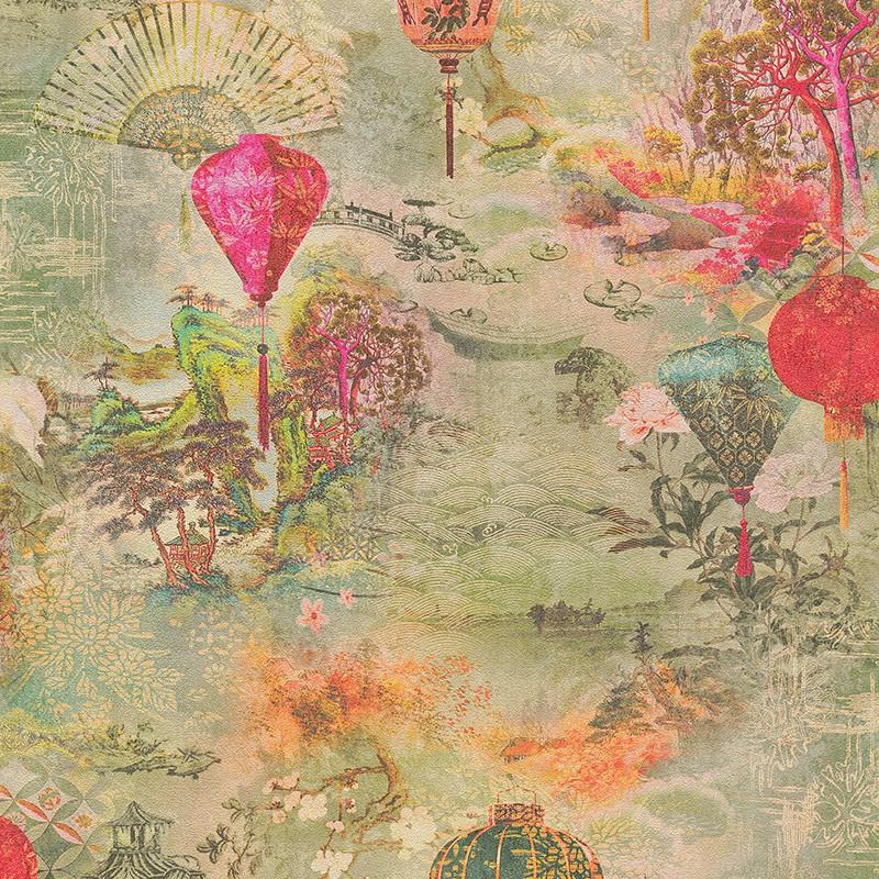 Papel pintado As Creation Asian Fusion 37466-1