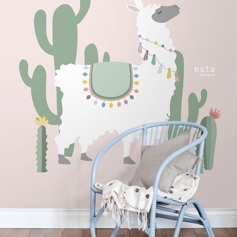Mural infantil ESTAhome Let's Play!  Alpaca 153-158926