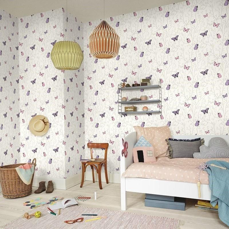 Papel Pintado Fiona Walldesign No Limits Magic Butterfly 560817