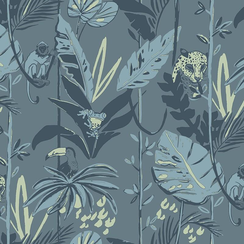 Papel Pintado Fiona Walldesign No Limits In the Jungle 640511