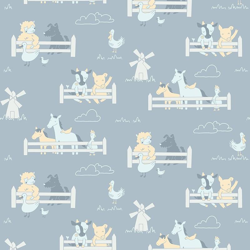 Papel Pintado Fiona Walldesign No Limits Little Farm 640204
