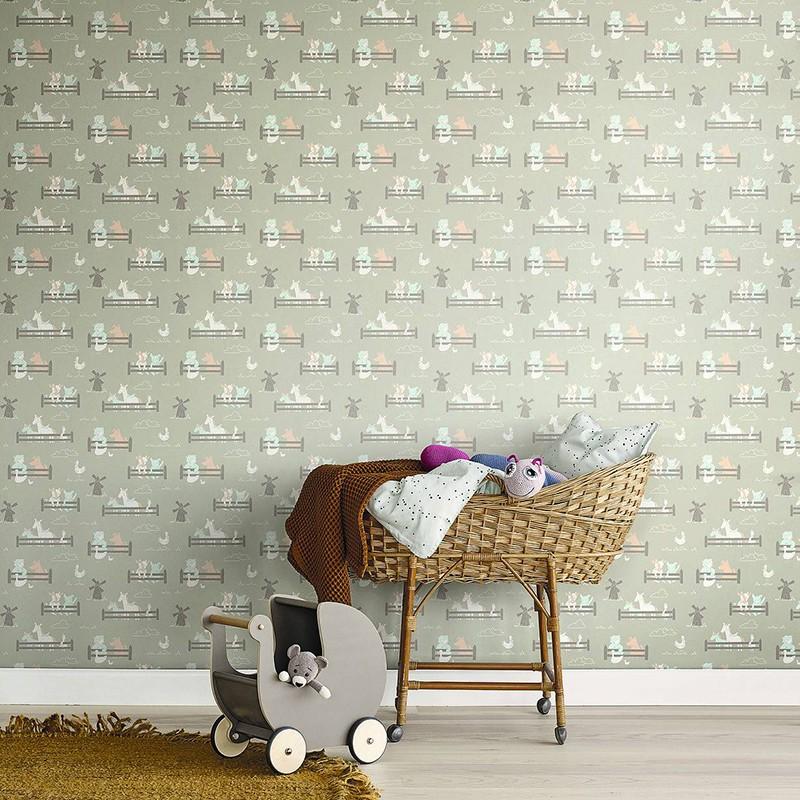 Papel Pintado Fiona Walldesign No Limits Little Farm 640203