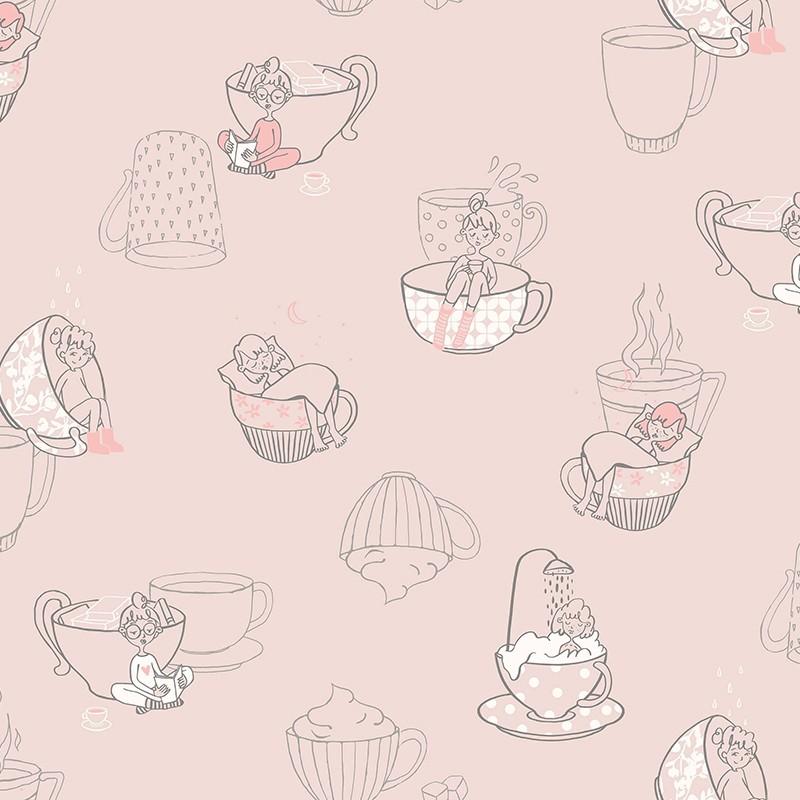 Papel Pintado Fiona Walldesign No Limits Teatime 640408