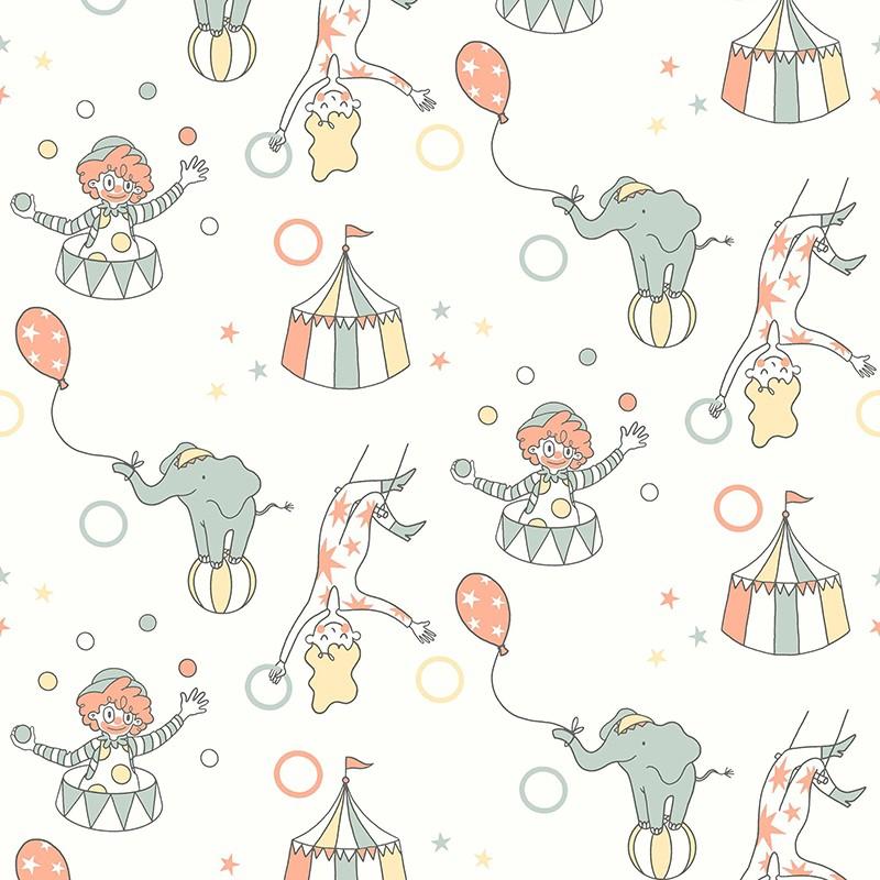 Papel Pintado Fiona Walldesign No Limits Circus 640613