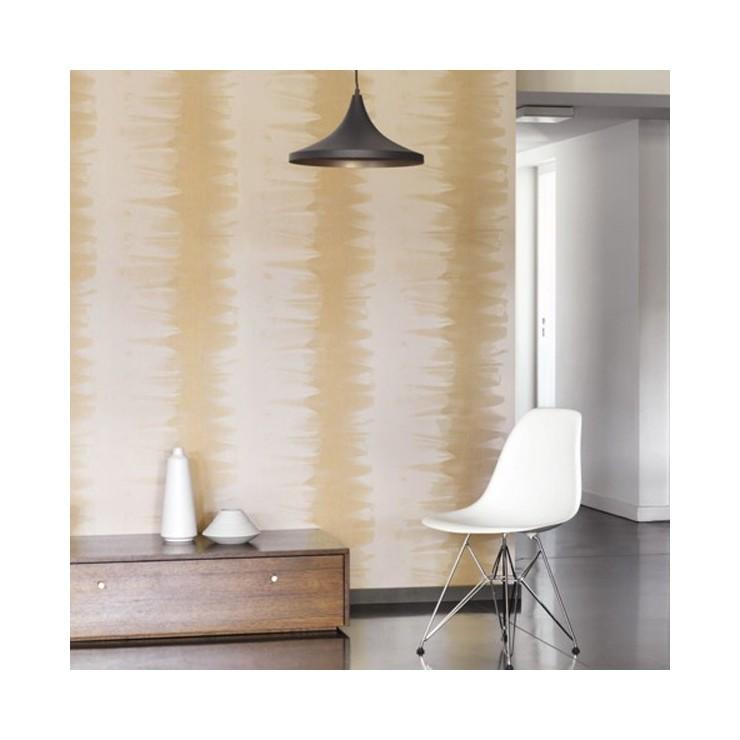 Casadeco papel pintado chrome rayas para decorar tus paredes - Papeles pintados de rayas ...