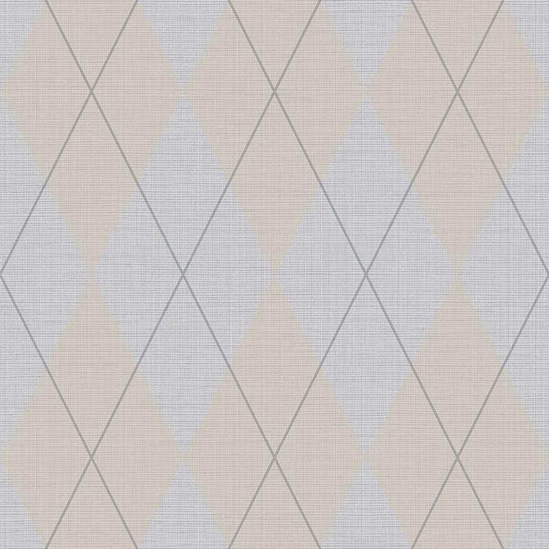 Papel pintado Wallquest Navy, grey & white BL72000