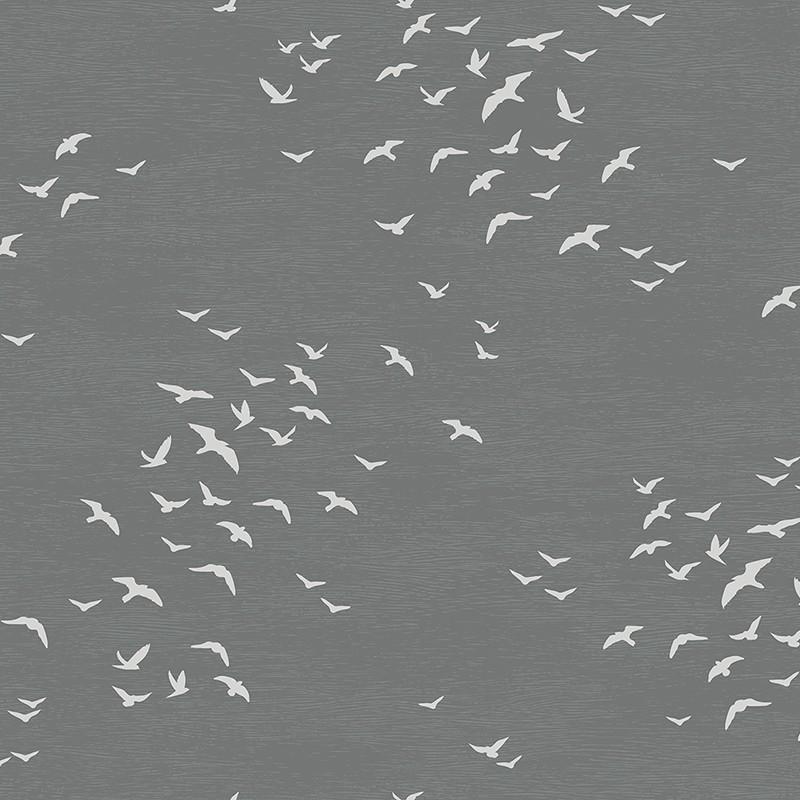 Papel pintado Wallquest Navy, grey & white BL70408