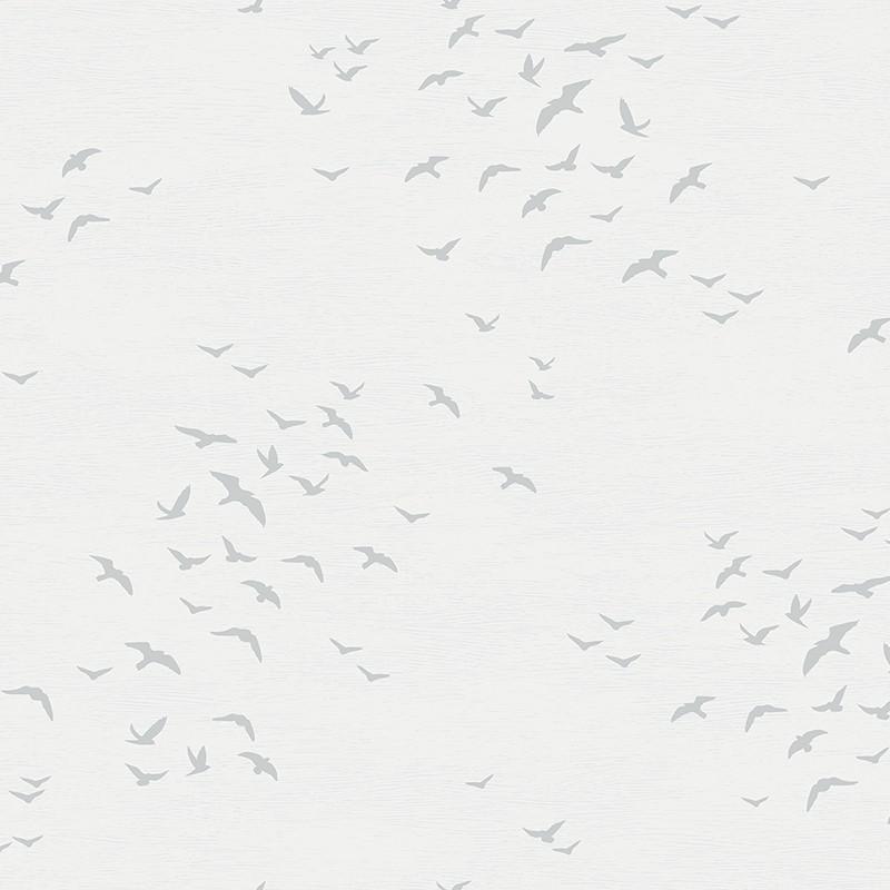 Papel pintado Wallquest Navy, grey & white BL70418