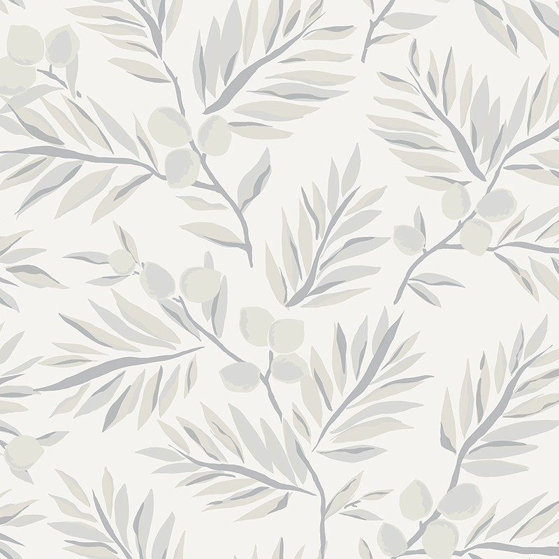 Papel pintado Wallquest Navy, grey & white BL70700