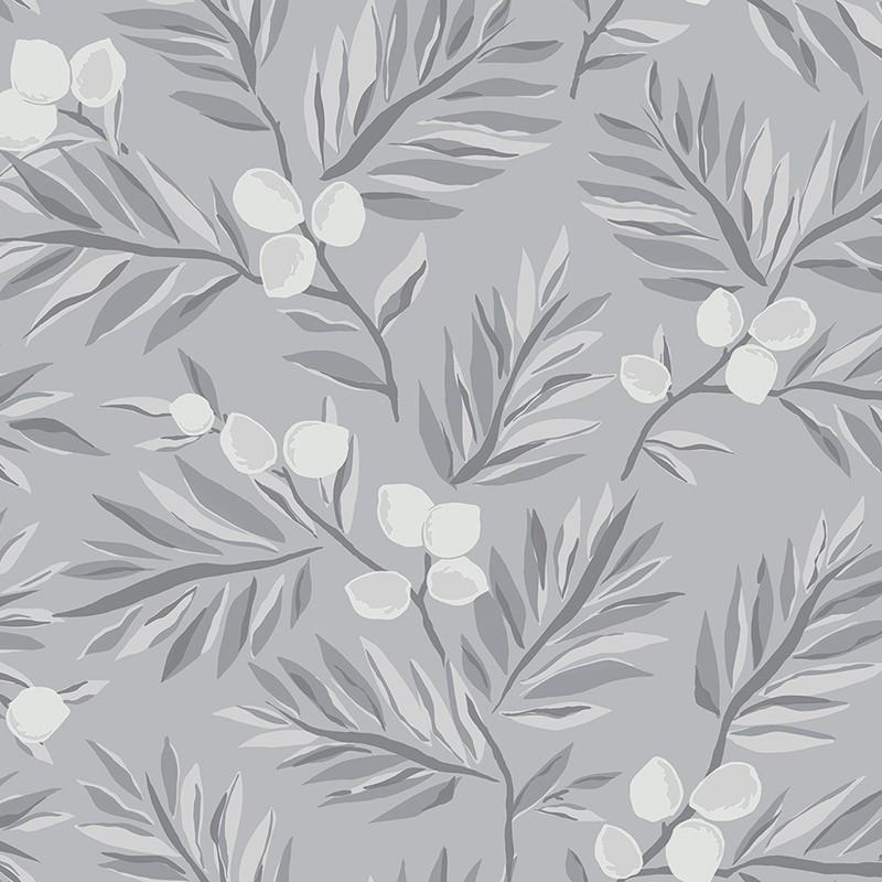 Papel pintado Wallquest Navy, grey & white BL70708