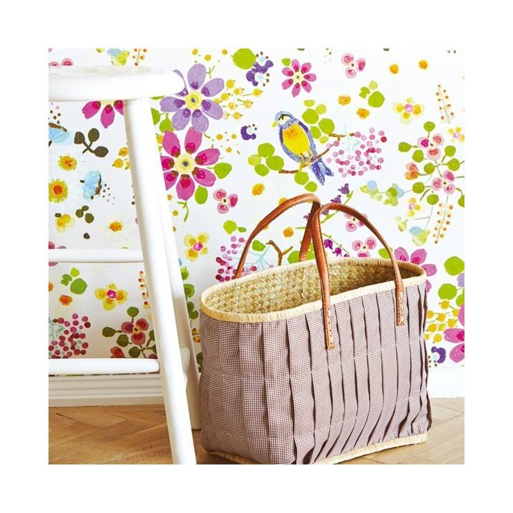 Papeles pintados eijffinger rice decorativos para - Papeles para habitaciones juveniles ...
