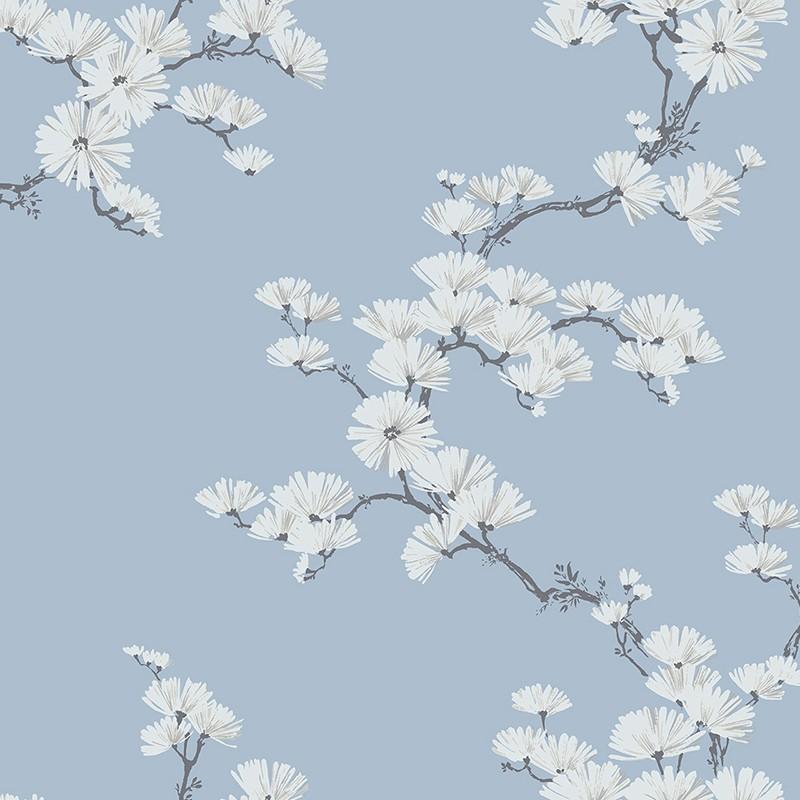 Papel pintado Wallquest Navy, grey & white BL70512